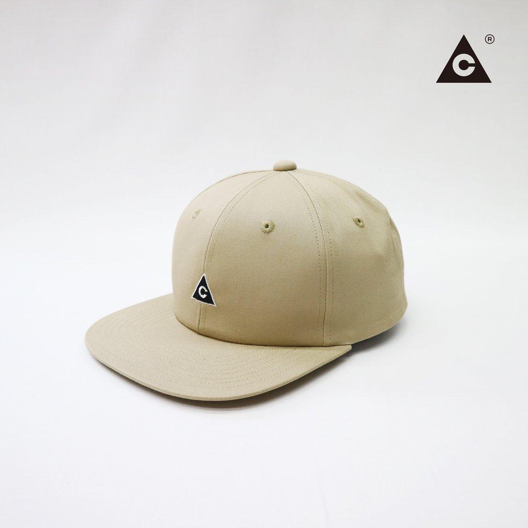 Triangle Cap  -Beige-
