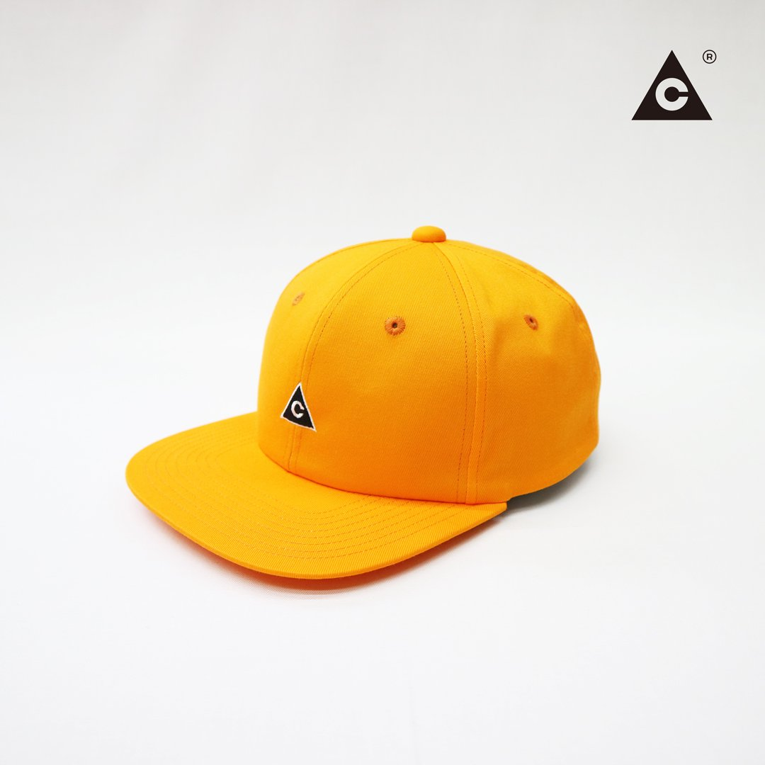 Triangle Cap  -Orange-