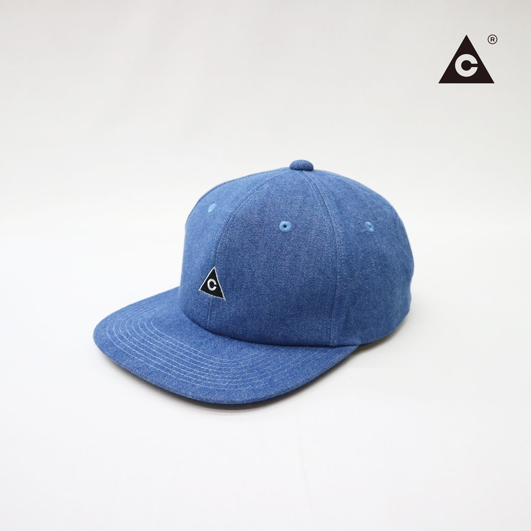 Triangle Cap  -Denim-