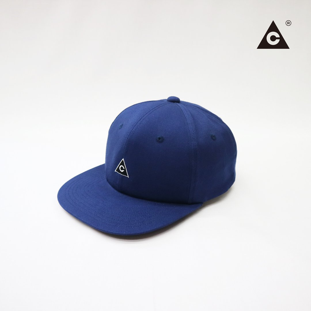 Triangle Cap  -Navy-