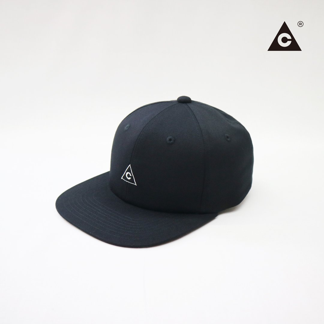 Triangle Cap  -Black-
