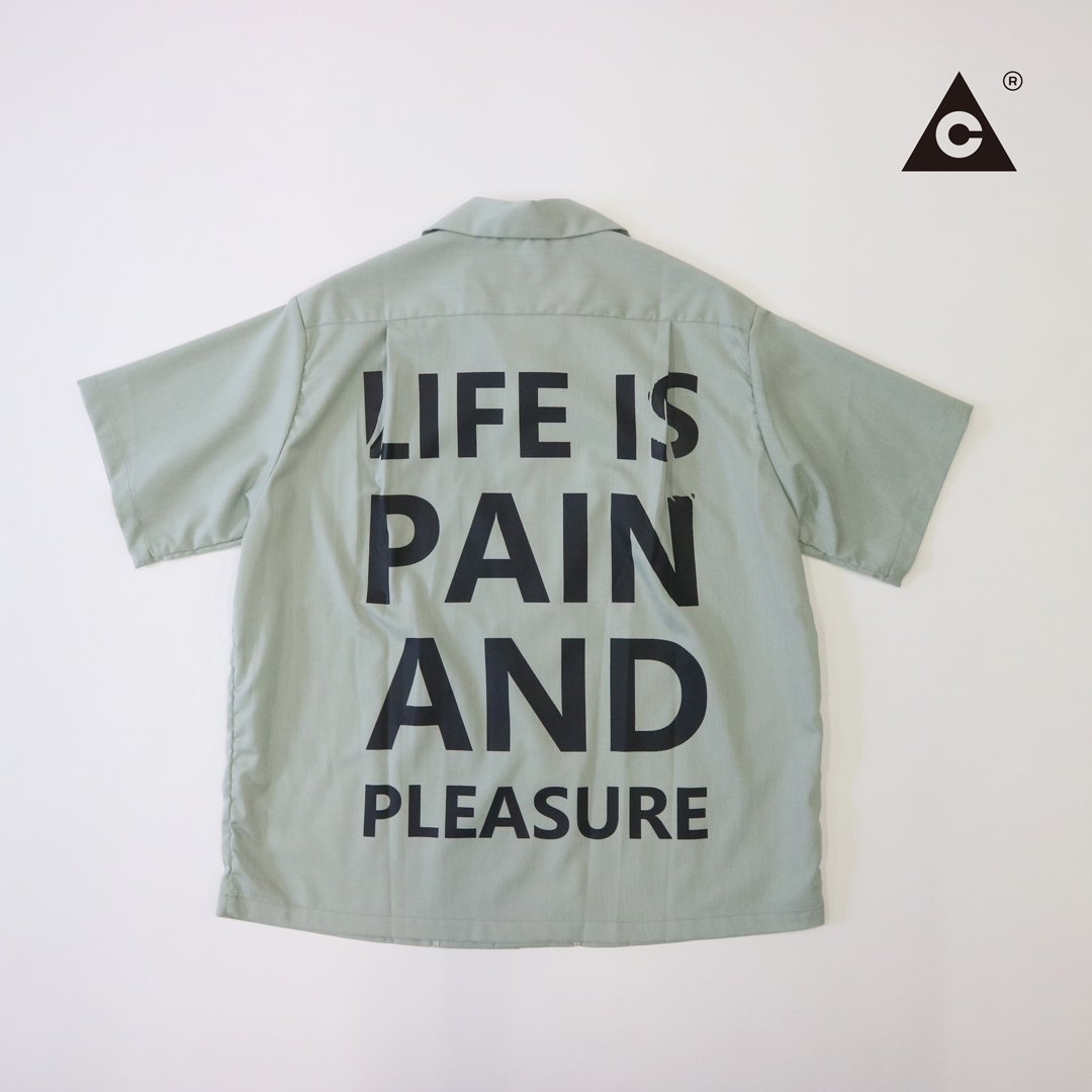 P&P S/S Shirts  -Light Green-
