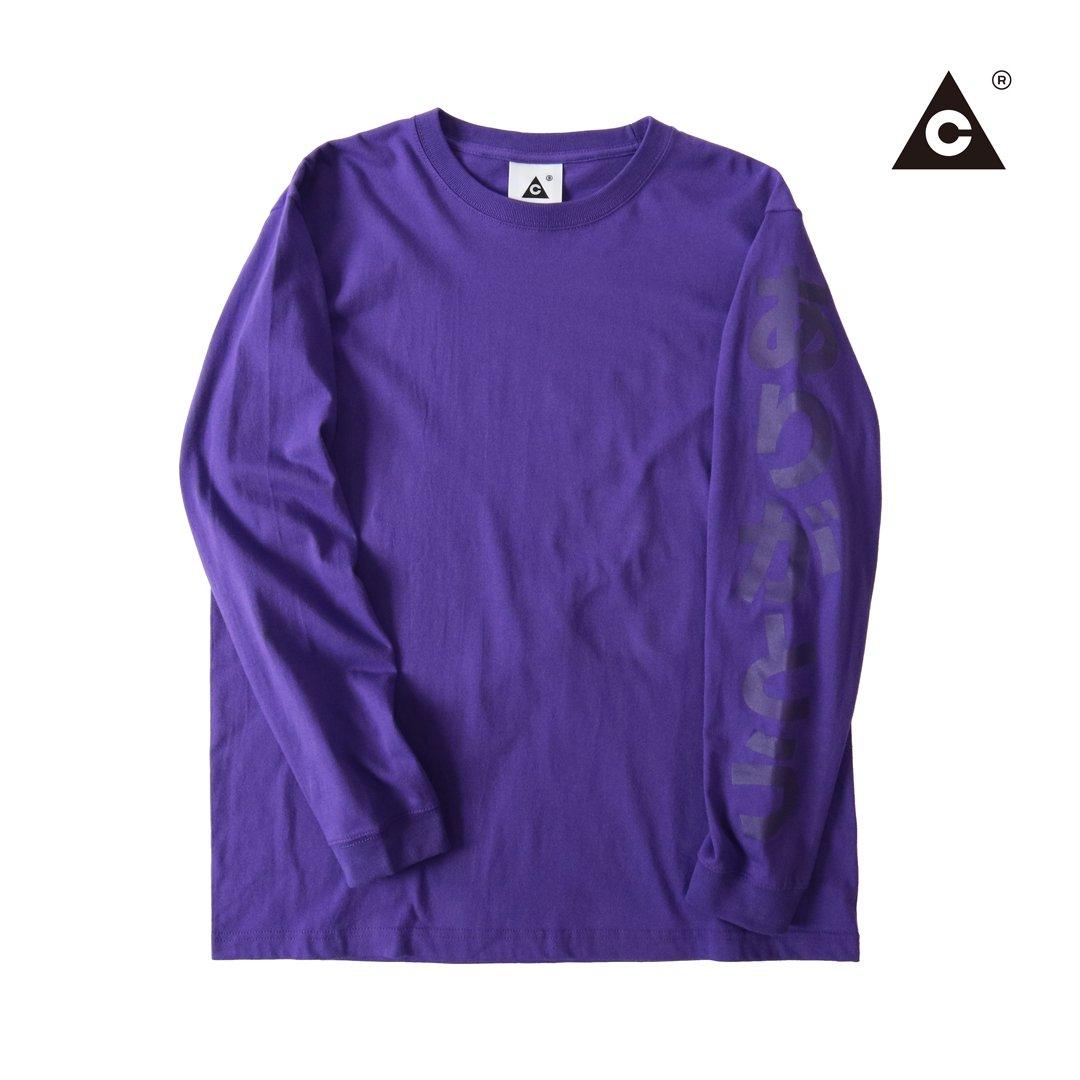 """ありがとうロンTee -Purple- """"イーグル別注"""""""