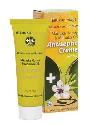 マヌカハニー&マヌカオイル ナチュラル殺菌、抗炎症クリーム (ニュージーランド限定品)