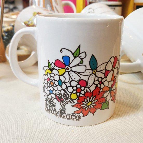 マグカップ OkINAWA FLOWER