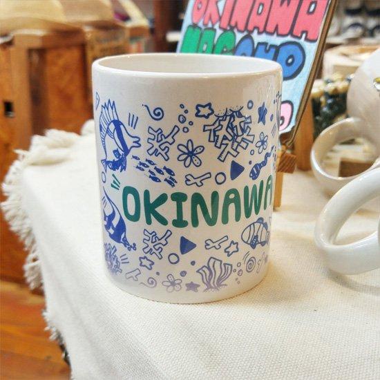 マグカップ OKINAWA BLUE