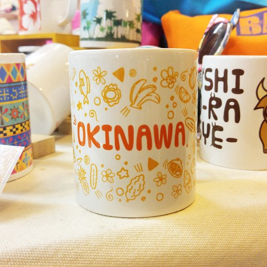 マグカップ OKINAWA ORANGE