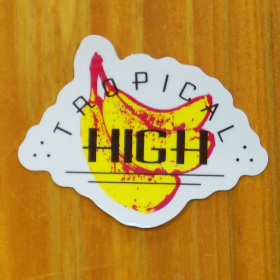 TROPICAL HIGH(バナナ)【販売ステッカー】<img class='new_mark_img2' src='https://img.shop-pro.jp/img/new/icons24.gif' style='border:none;display:inline;margin:0px;padding:0px;width:auto;' />