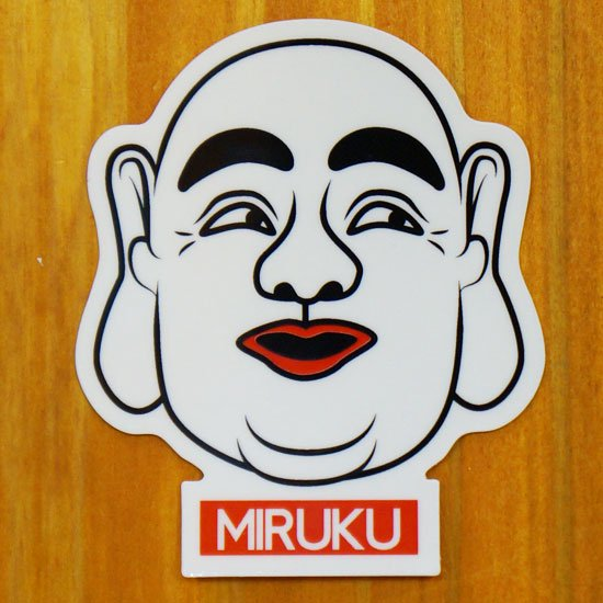 MIRUKU(美白)【販売ステッカー】<img class='new_mark_img2' src='https://img.shop-pro.jp/img/new/icons24.gif' style='border:none;display:inline;margin:0px;padding:0px;width:auto;' />