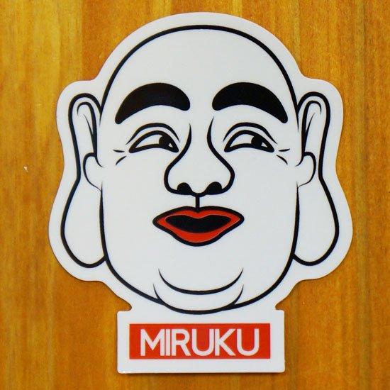 MIRUKU(美白)【販売ステッカー】