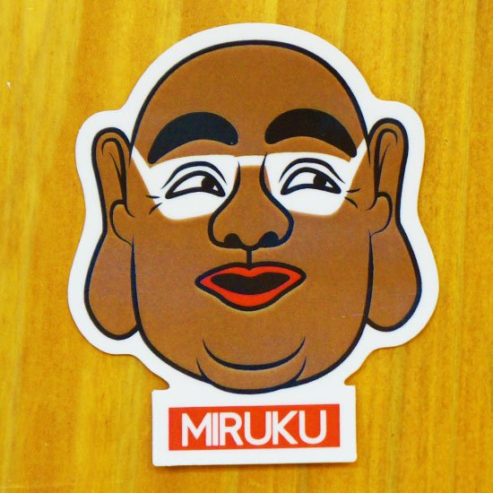 MIRUKU(南国)【販売ステッカー】<img class='new_mark_img2' src='https://img.shop-pro.jp/img/new/icons24.gif' style='border:none;display:inline;margin:0px;padding:0px;width:auto;' />