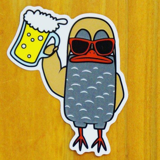 ビールジョーグー【販売ステッカー】