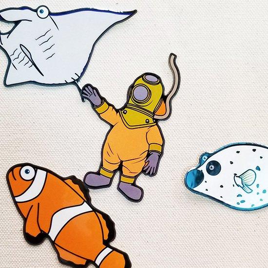 mylittlesea Sticker-Diver【販売ステッカー】