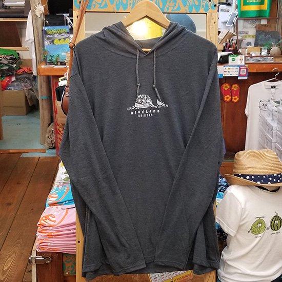 クジラトライバル ロングスリーブフードTShirts