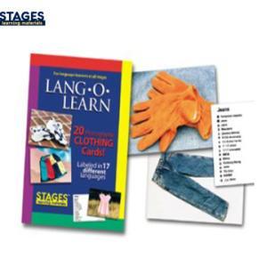 言語訓練カード ランゴーラーン 写真カード洋服 20枚セット SLM-LL-004