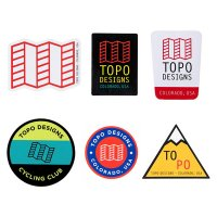 TOPO DESIGNS STICKER(5枚SET)