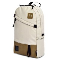 DAYPACK-Natural Canvas/Leather