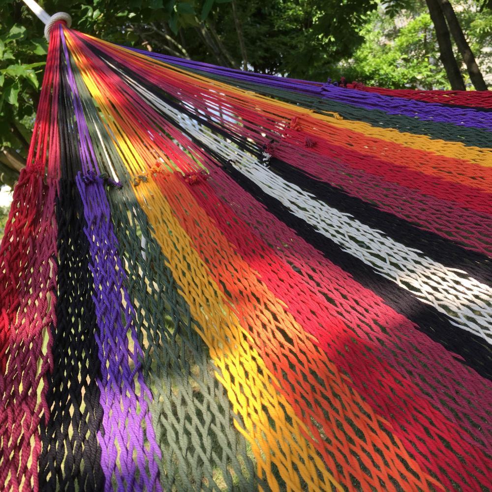 ハンモック ベッド型 太糸コットン 【reguler size】メコンサンライズ Mekong sunrise  ムラブリハンモック