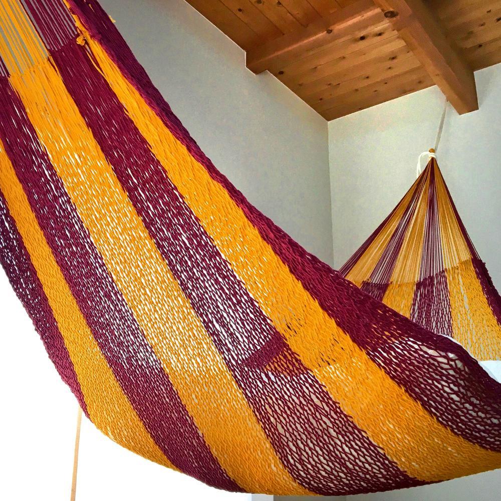 ハンモック ベッド型 太糸コットン 【reguler size】スペイン Spain  ムラブリハンモック