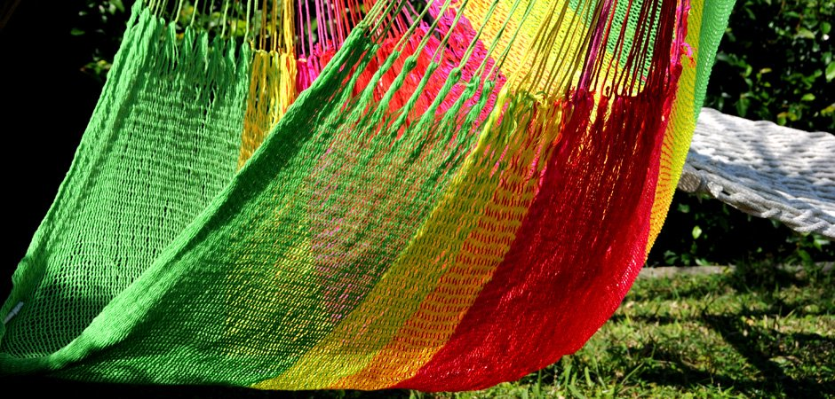 ハンモック チェア型 細糸アクリル チェアハンモック ポイズネスフラワー