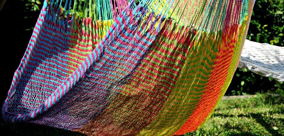 ハンモック チェア型 細糸アクリル チェアハンモック 熱帯魚