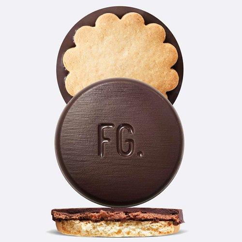 【ファブリス・ジロット】 ダークチョコレート&ヘーゼルナッツ 9個入り 『デュアリテ』