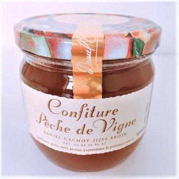 【ダニエル・カショ】 ピーチジャム ≪Confiture de Peche de Vigne≫ 390g