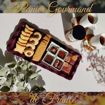 【フランス美味しいもの便】ショコラ・キャラメル・焼き菓子・パットドゥフリュイ・フレグランスティー (送料込み)