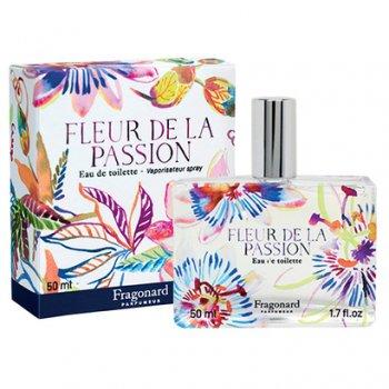【フラゴナール】 Fleur de la Passion(フルールドゥラパッション)パッションフルーツの花 オードトワレ 50ml