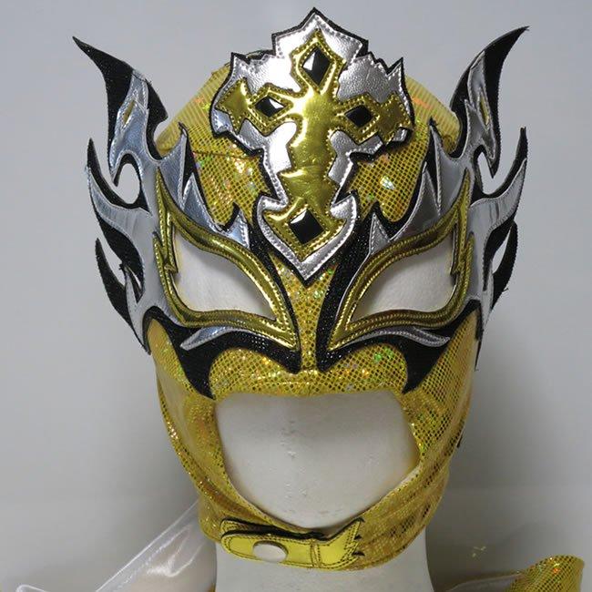 不死鳥王 レイ・フェニックス (元AAAフェニックス) セミプロマスク byアレナメヒコ イエロー YM23300