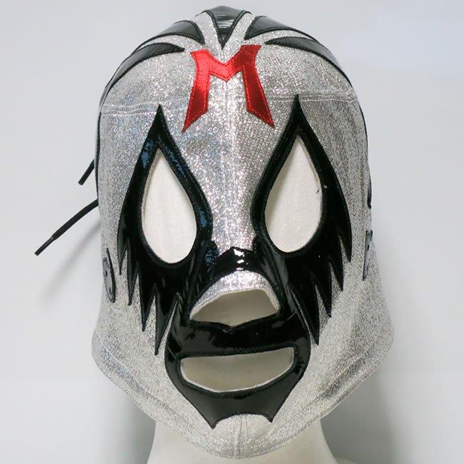 仮面貴族 ミル・マスカラス  試合用マスク シルバートレード  IM23375