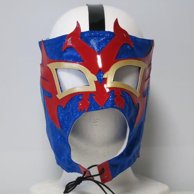 飛鳥仮面2世 ドス・カラス・ジュニア   格闘モデル セミプロマスク ブルー DM23493