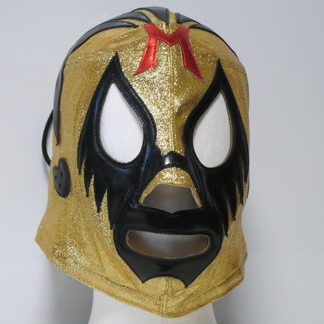 仮面貴族 ミル・マスカラス  試合用マスク ゴールドトレード  IM23532