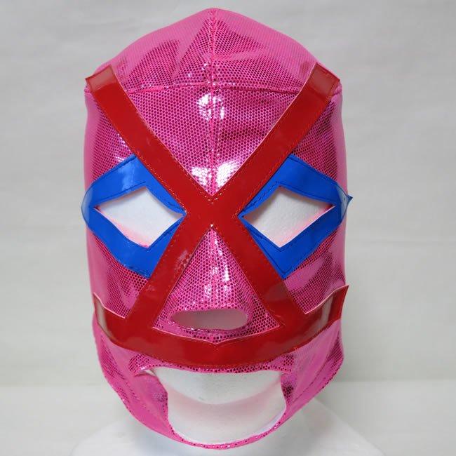 極悪仮面「ピンクパンサー」 ビジャノ (ロス・ビジャノス) セミプロマスク PINK FM21409