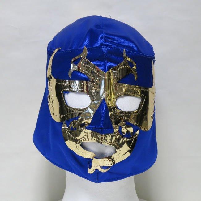 飛鳥仮面 ドス・カラス  応援用おもちゃマスク 後紐仕様 青 NM22392A