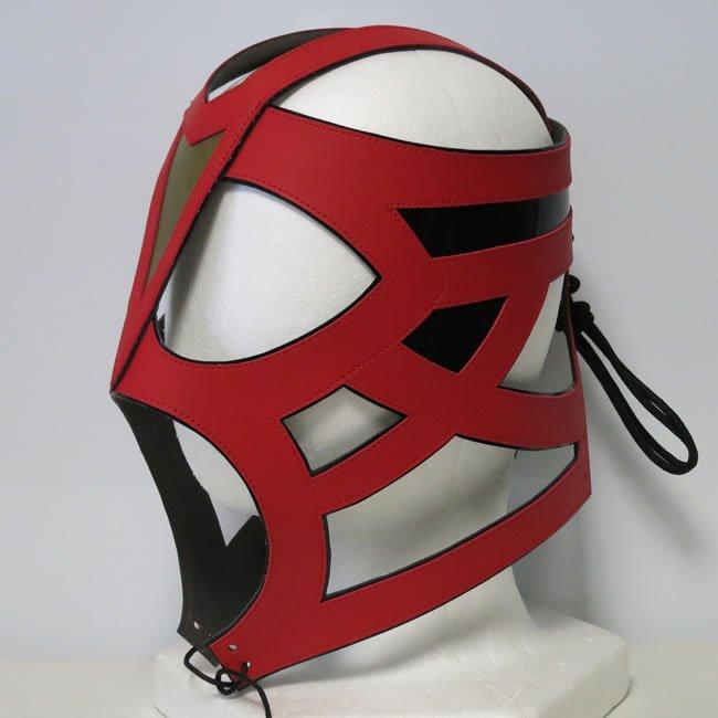 皇帝戦士 ビッグ・バン・ベイダー セミプロマスク レッドオープンタイプ DM22469