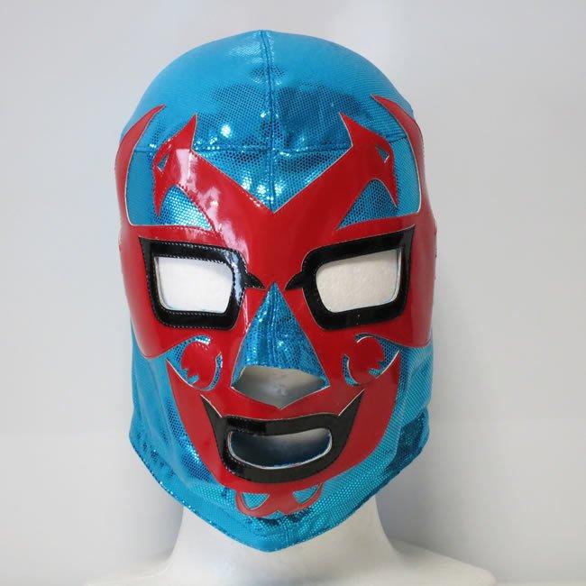 仮飛鳥仮面  ドス・カラス セミプロマスク  ブルー   KM22641