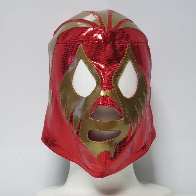 仮面貴族 ミル・マスカラス レッドトレード×ゴールド セミプロマスク  KM22810