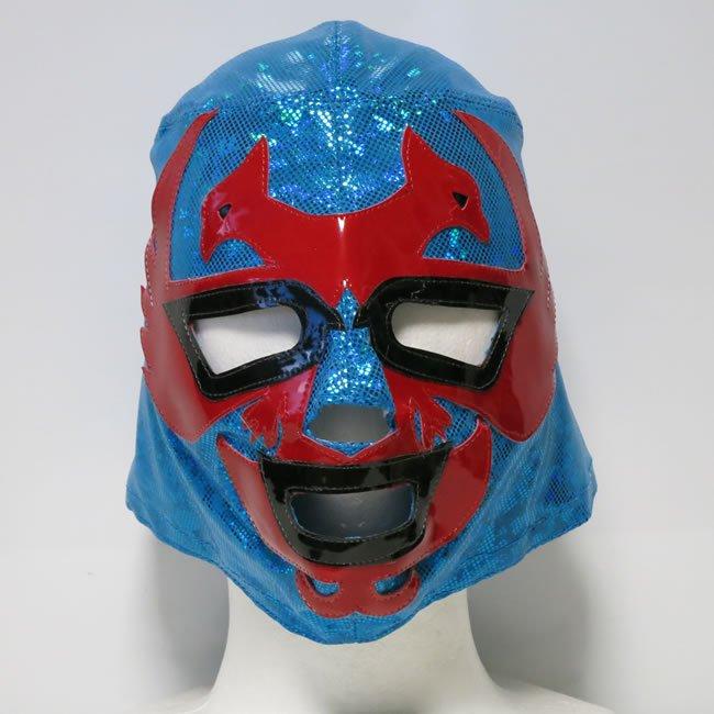飛鳥仮面 ドス・カラス セミプロマスクbyアレナメヒコ ブルー  NM22815