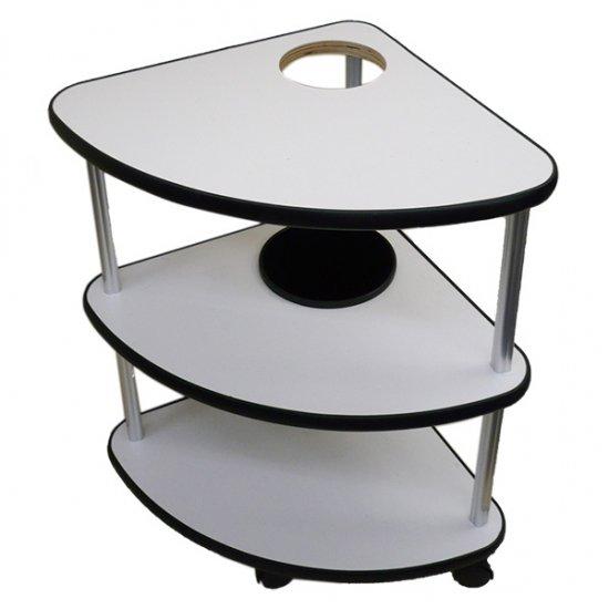 サイドテーブル レギュラーサイズ 灰皿穴あり