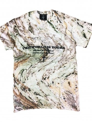 <img class='new_mark_img1' src='//img.shop-pro.jp/img/new/icons15.gif' style='border:none;display:inline;margin:0px;padding:0px;width:auto;' />Marble camo Tie Dye T-shirt