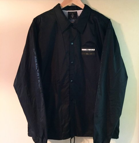 <img class='new_mark_img1' src='https://img.shop-pro.jp/img/new/icons1.gif' style='border:none;display:inline;margin:0px;padding:0px;width:auto;' />Coach jacket【Rubber Patch】