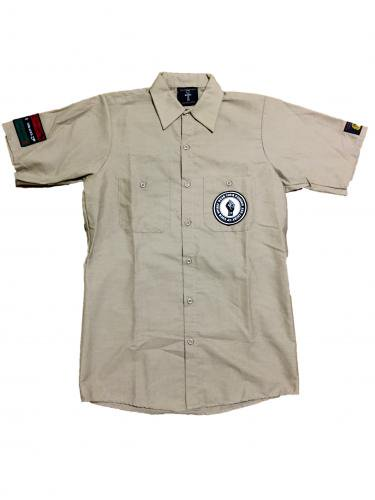 <img class='new_mark_img1' src='//img.shop-pro.jp/img/new/icons15.gif' style='border:none;display:inline;margin:0px;padding:0px;width:auto;' />work shirt【Beige,Deepgreen】