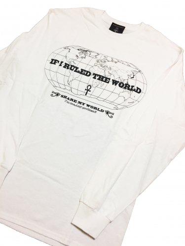 If I Ruled The World Long sleeve T-shirt【White,Black】