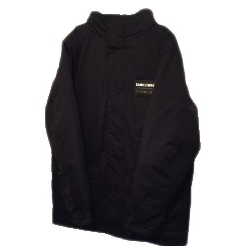 <img class='new_mark_img1' src='https://img.shop-pro.jp/img/new/icons14.gif' style='border:none;display:inline;margin:0px;padding:0px;width:auto;' />Down jacket hood in type【XL size Only Back black print】