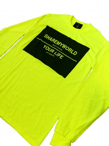 <img class='new_mark_img1' src='//img.shop-pro.jp/img/new/icons15.gif' style='border:none;display:inline;margin:0px;padding:0px;width:auto;' />Big logo long sleeve T-shirt【S Green】
