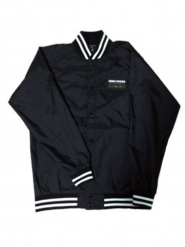 <img class='new_mark_img1' src='//img.shop-pro.jp/img/new/icons15.gif' style='border:none;display:inline;margin:0px;padding:0px;width:auto;' />Nylon jacket【Black white line】