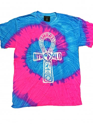<img class='new_mark_img1' src='https://img.shop-pro.jp/img/new/icons15.gif' style='border:none;display:inline;margin:0px;padding:0px;width:auto;' />Blue & Pink Tie Dye T-shirt