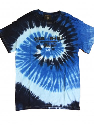<img class='new_mark_img1' src='//img.shop-pro.jp/img/new/icons15.gif' style='border:none;display:inline;margin:0px;padding:0px;width:auto;' />Blue sea Tie Dye T-shirt