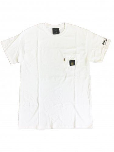 <img class='new_mark_img1' src='https://img.shop-pro.jp/img/new/icons15.gif' style='border:none;display:inline;margin:0px;padding:0px;width:auto;' />Pocket T-shirt【White】